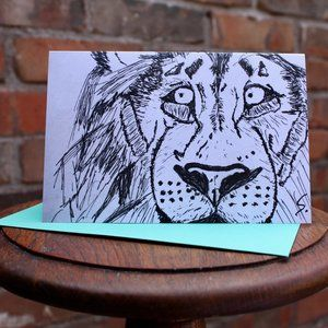 Greeting Cards- Lion